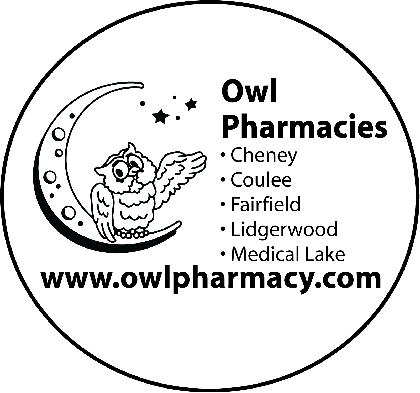 Owl-Logo-5-Stores-Circled