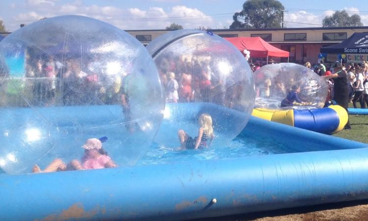 Giant Water Balls